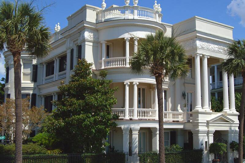 homes on the battery downtown charleston sc