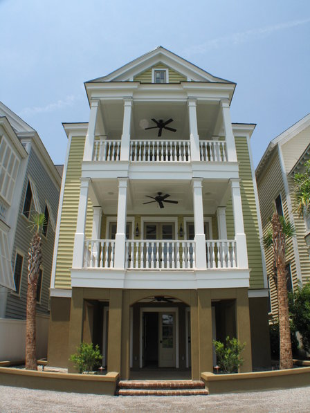 Charleston architecture house plans home design and style for Charleston style home floor plans