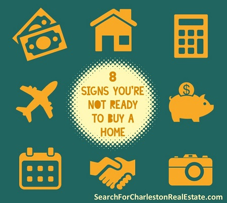 signs youre not ready to purchase a house