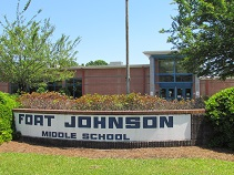 public middle school on james island