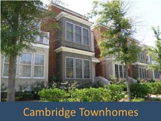 park west cambridge townhomes