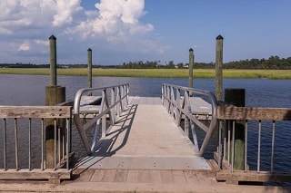 dock at county park