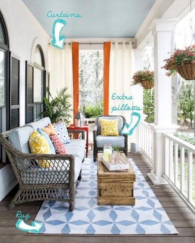 diy ideas for decorating a porch