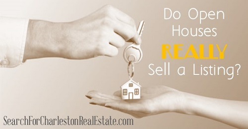 do open houses actually sell a home