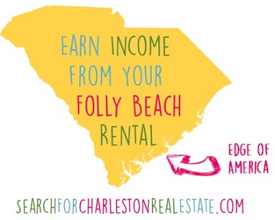 earn income from my folly beach vacation rental home