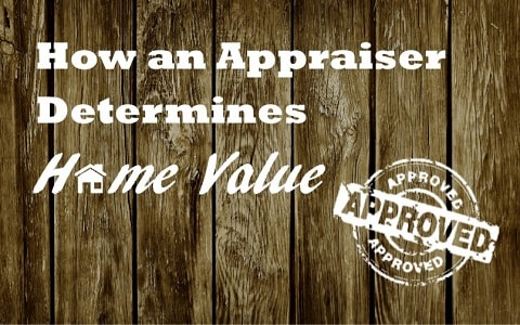 determining appraisal value for a home