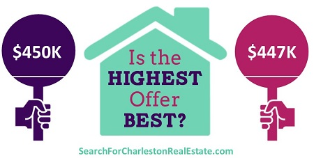 is the highest real estate offer best