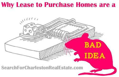 cons of lease to purchase homes