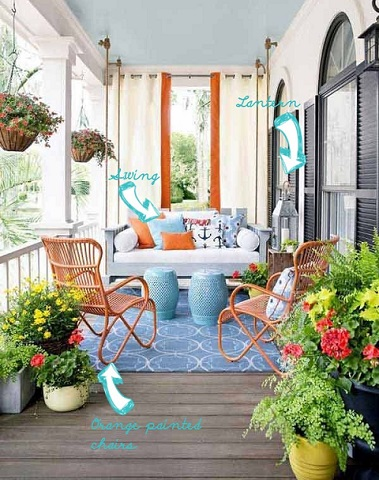outdoor porch decorating tips