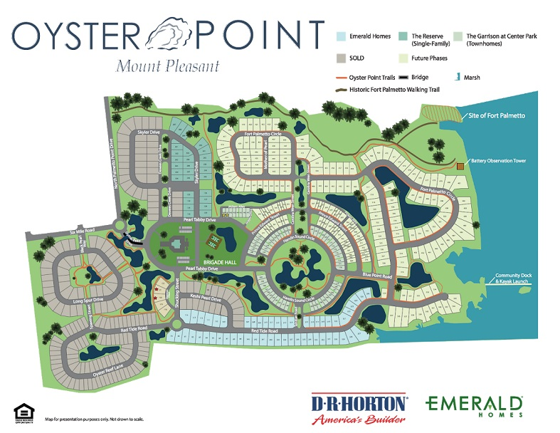 oyster point community map mt pleasant