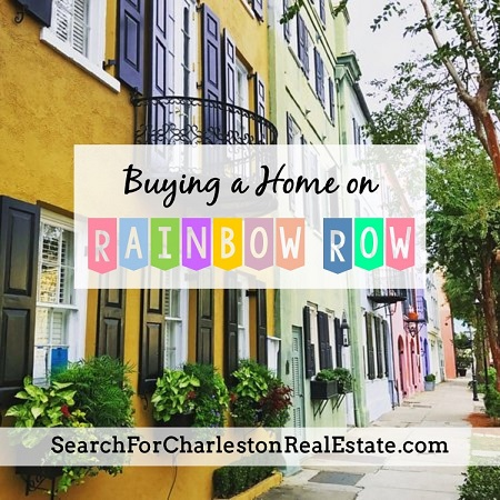 rainbow row charleston sc for sale