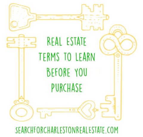 real estate terms to learn before buying a home