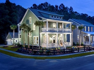 ryland new construction home charleston