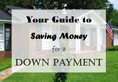 how to save money for a down payment