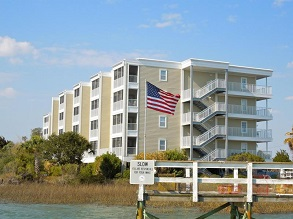 waterfront condos folly beach