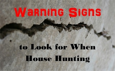 warning signs when buying a home
